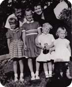 Jennie at 3 with her immediate family